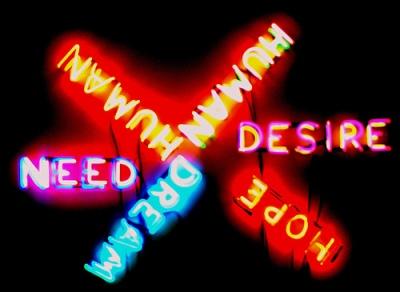 Bruce Nauman - Human Need Desire