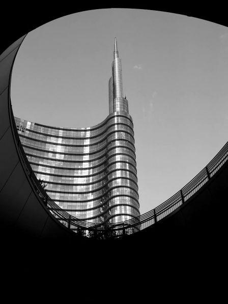 Torre Unicredit, da piazza Gae Aulenti - César Pelli