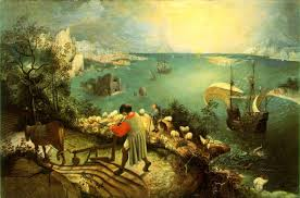 Brueghel, Landscape with the Fall of Icarus