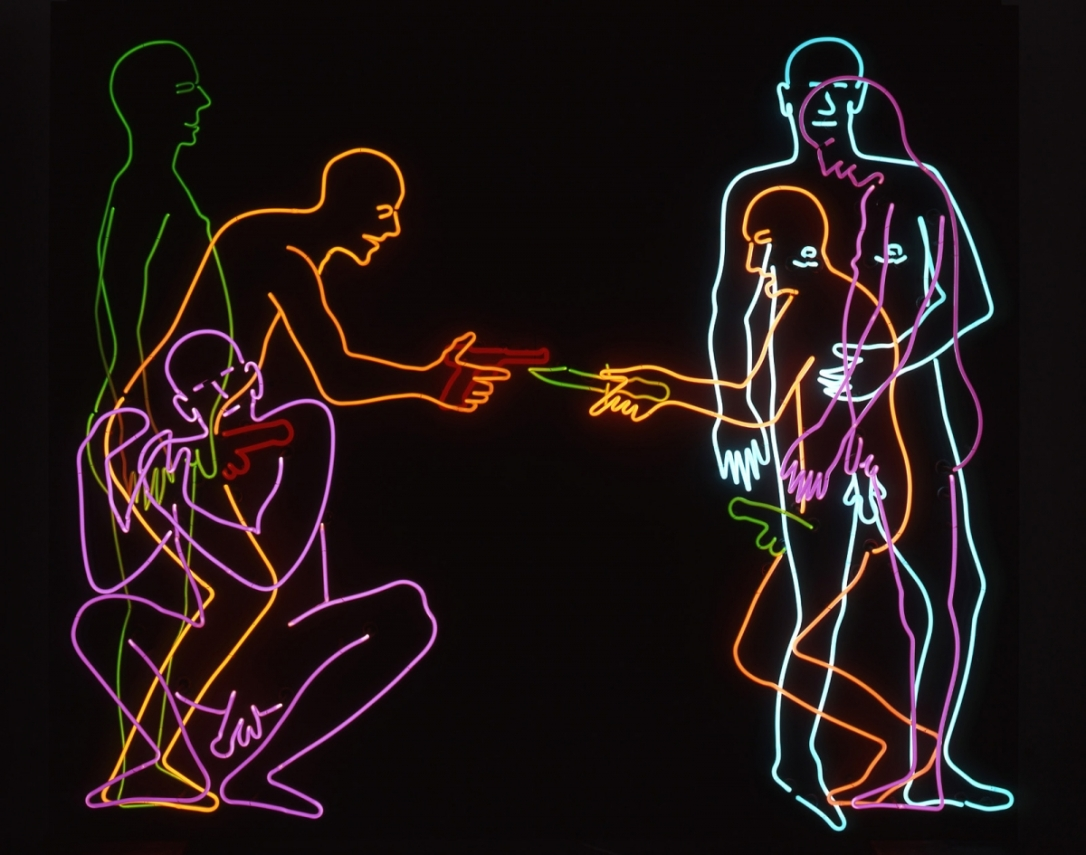 Bruce Nauman - Sex and Death