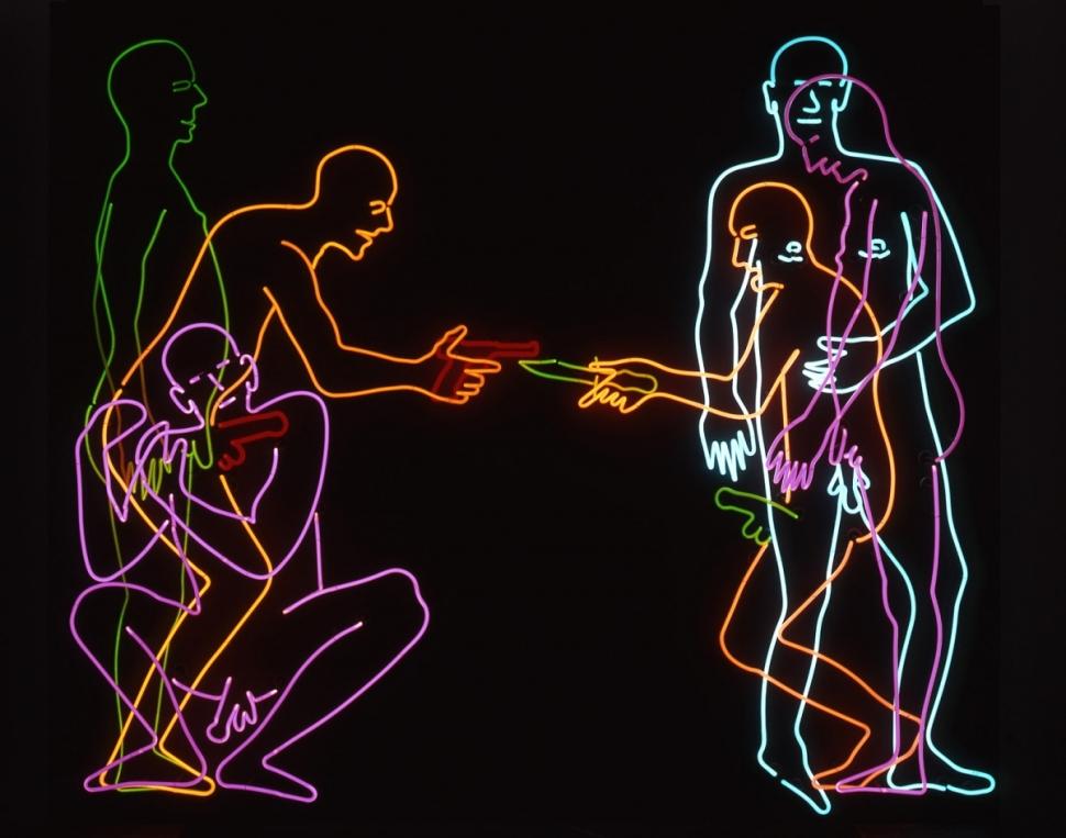 Bruce Nauman - Sex and Death