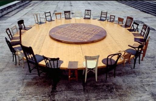 Chen Zhen, Round Table (1995)