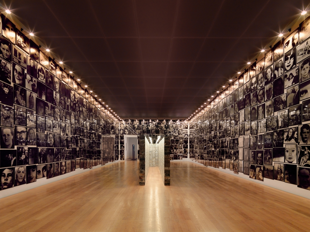 Photography Installation, Boltanski