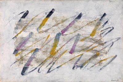111jean-fautrier-lignes-colorees-1961-olio-tecnica-mista-su-carta-su-tela-54-x-81-cm