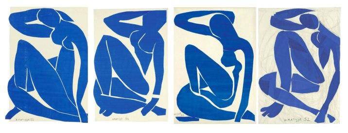 Matisse, Nudi blu, 1952