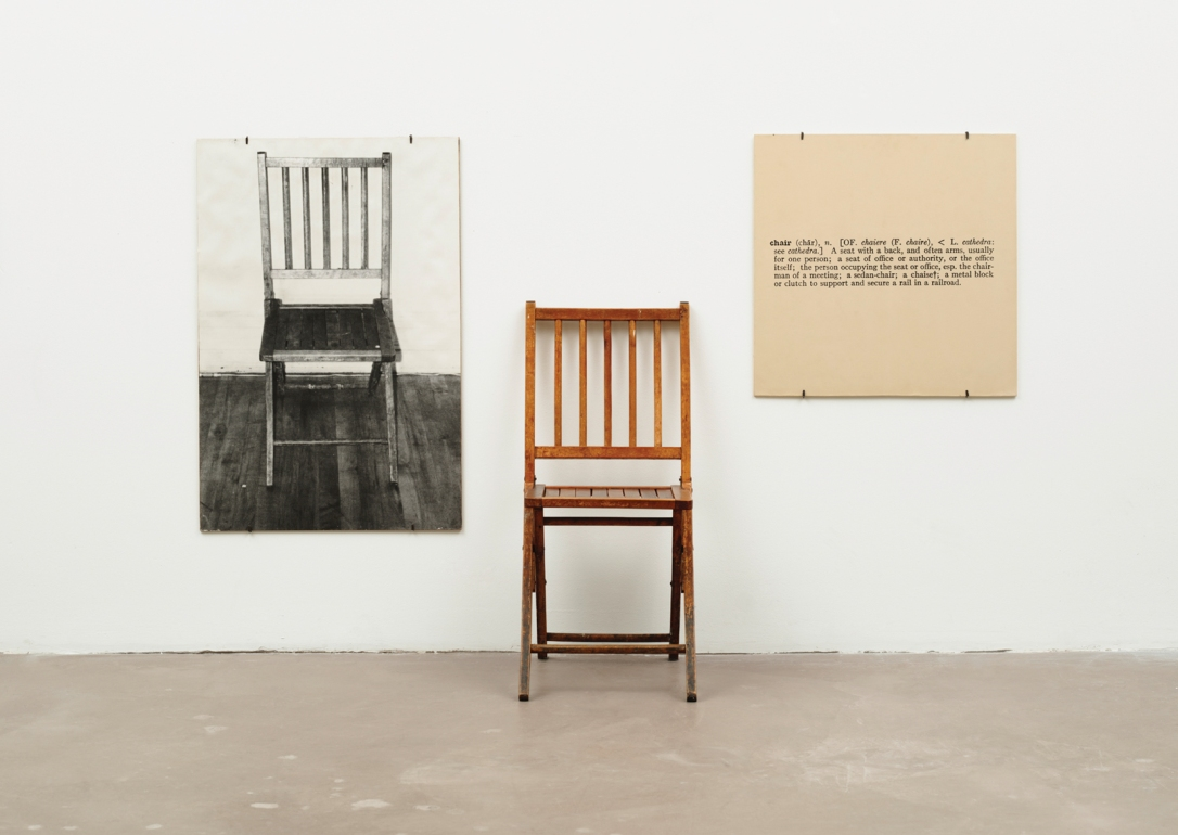 Joseph-Kosuth_One-and-Three-Chairs-1965