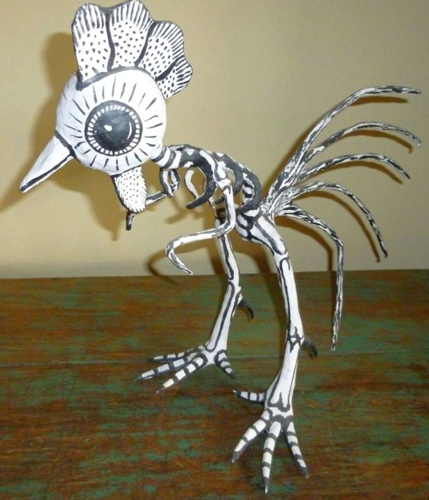 Chicken Calavera (Mexican Folk Art)