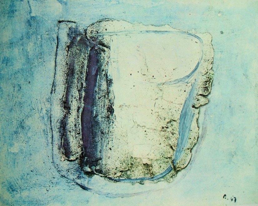 J. Fautrier, Il vaso, 1947